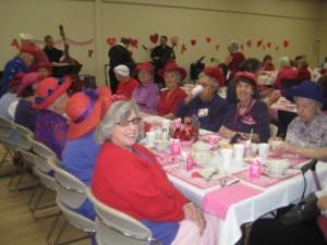 Tustin Seniors Sweetheart Lunch