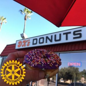 Donuts and Coffee with Rotary 6:45-8:15am @ DK's Donuts