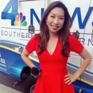 NBC LA Channel 4 News Reporter - Christine Kim @ Tustin Ranch Golf Club